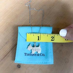 Tiffany & Co. Scottie Dog Charm Necklace